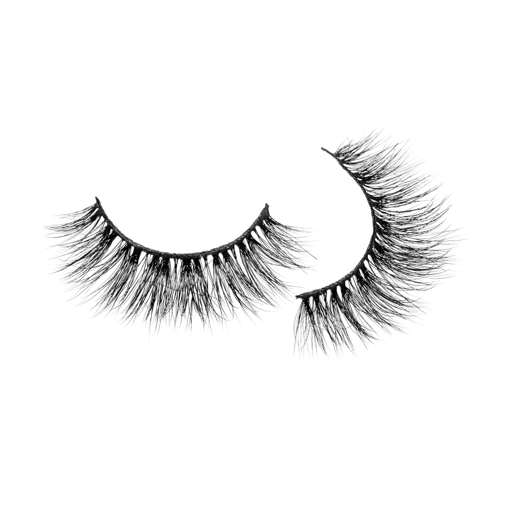 Private label cruelty free vendors dramatic 3d mink eyelashes JN47