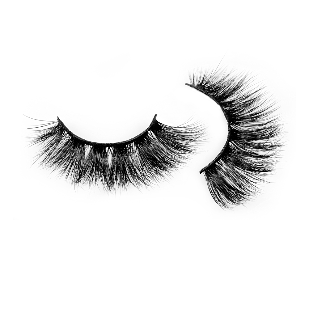 Dramatic real mink lashes with premium quality JH49
