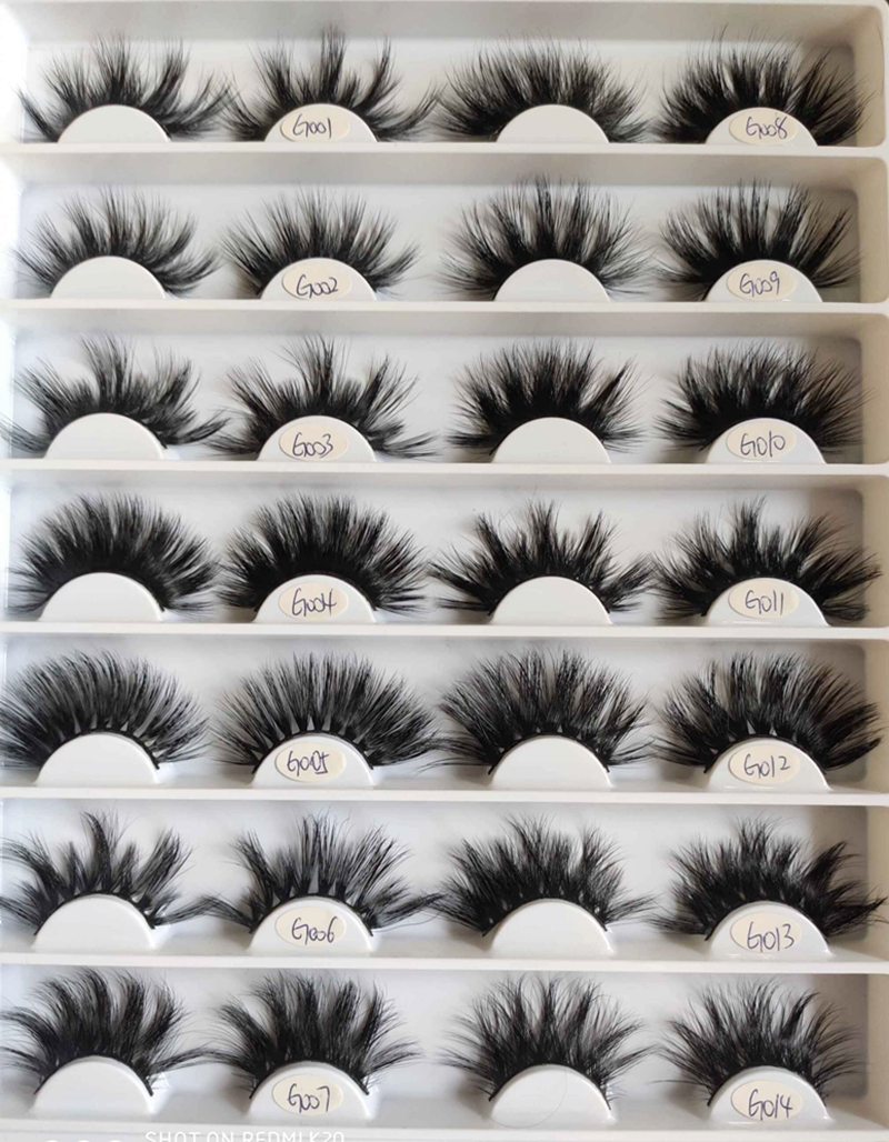Wholesale price faux mink lashes with prety quality JH0123