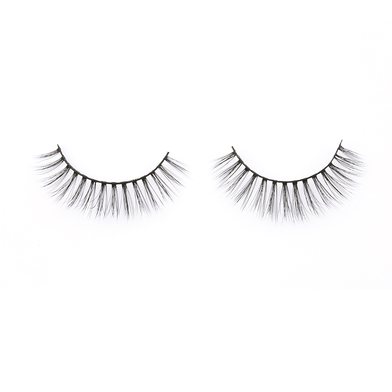 2020 USA UK New Own Brand Silk Lashes Private Label Wholesale 3D Faux Mink Eyelashes Curelty Free 3D Silk Lashes JN71