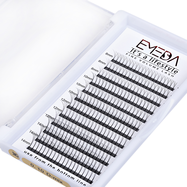 Inquiry for Long Stem 3D Eyelash Extensions Premade Fan Lashes Vendor Professional Manufacturers YL14