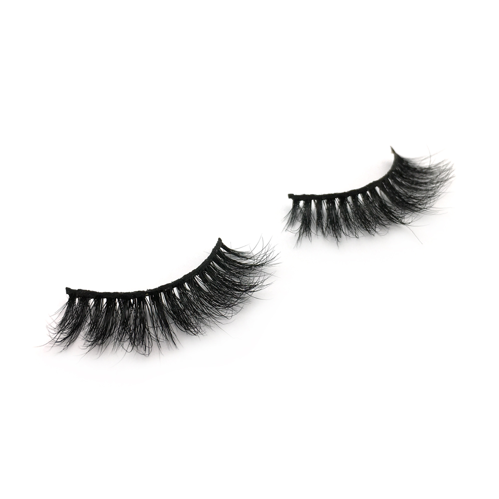 2020 New Fashion 100% Handmade  3D Mink Strip Lashes with Private Box in the UK and the US YY73