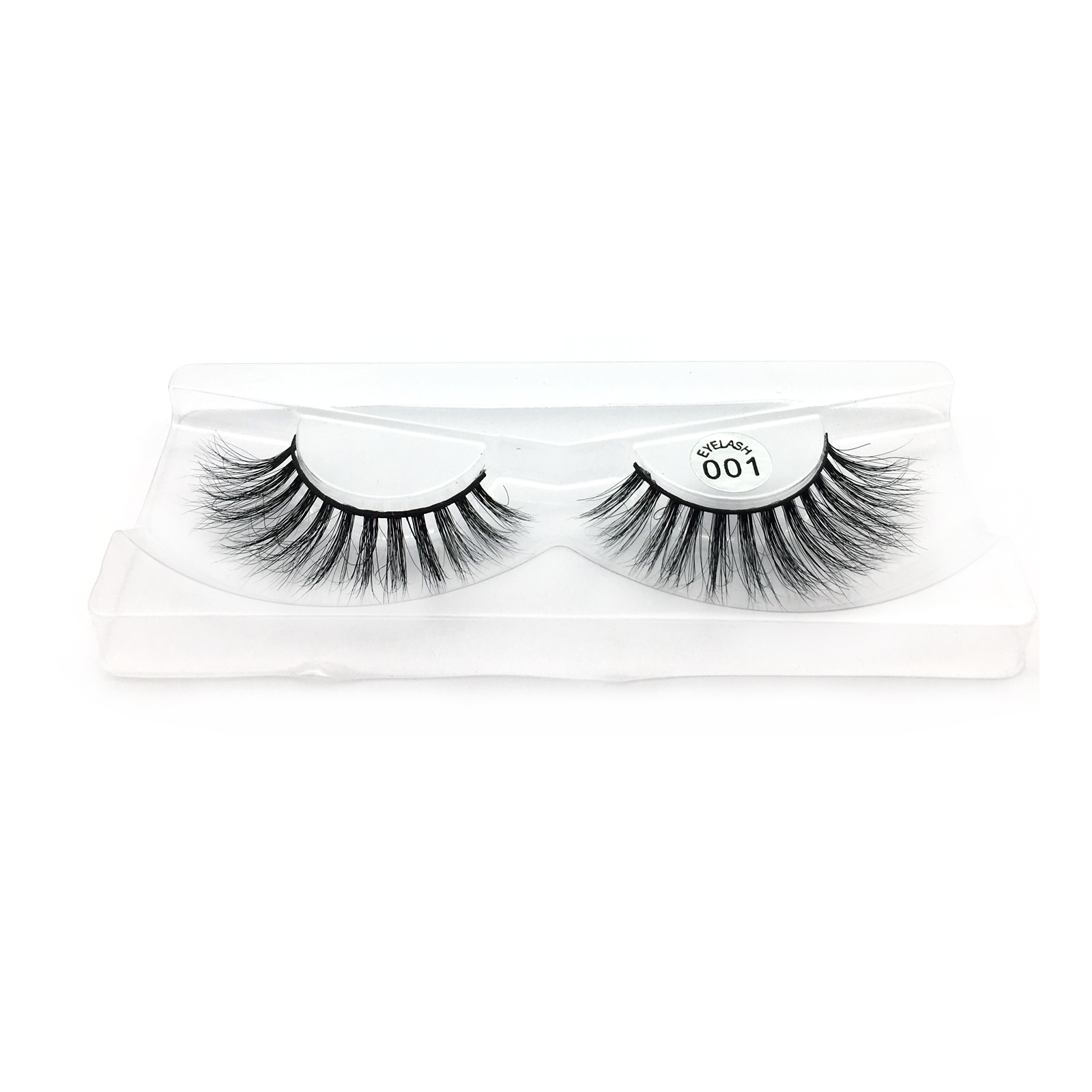 3D Mink Lashes Wholesale Vendors Supply 100% Real Mink Fur Strip Eyelashes with Private Logo in the US YY84