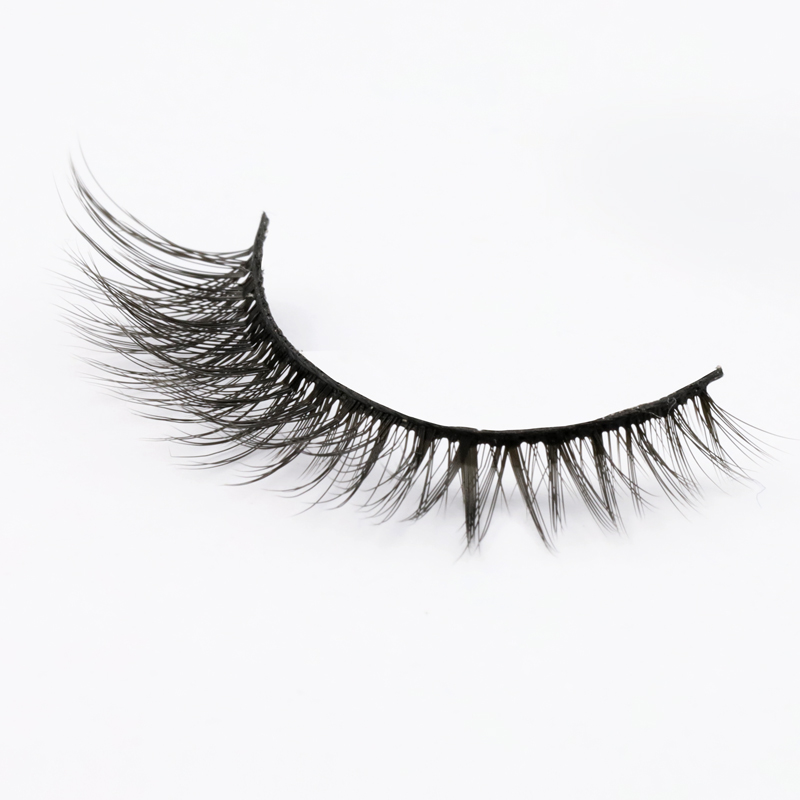 Top Selling Wholesale 100% Cruelty Free False Silk Lashes Vendor SPG41 ZX128