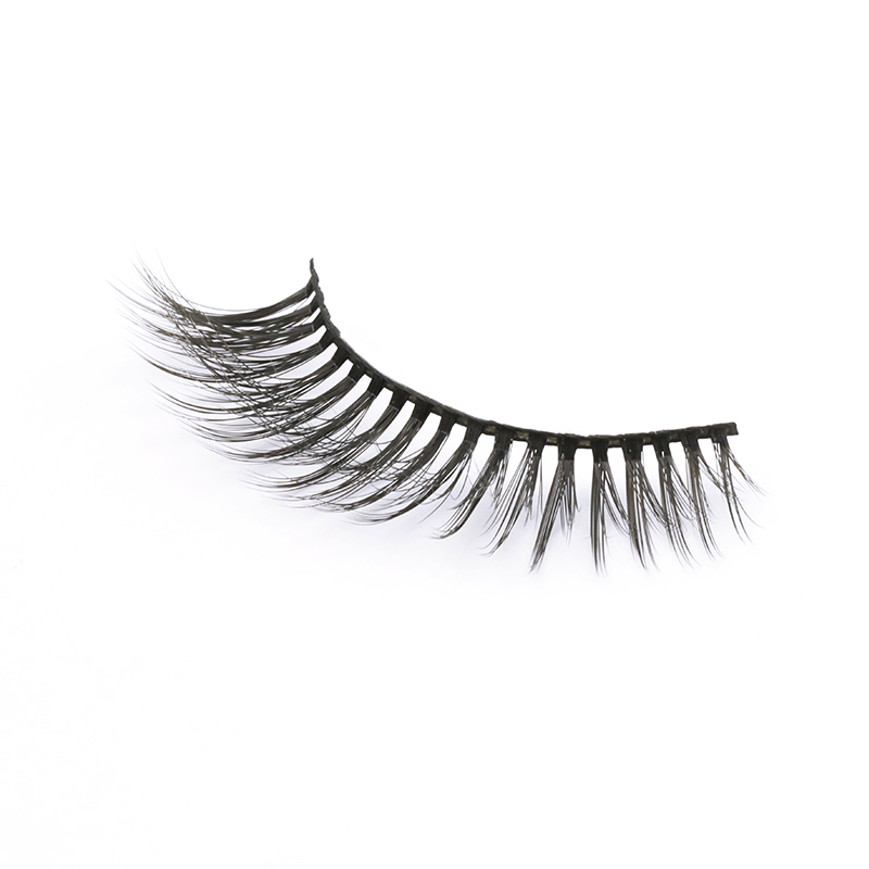 2020 Hot Sale Light And Flexible 3D Silk Lashes Supplier SPG59 ZX118
