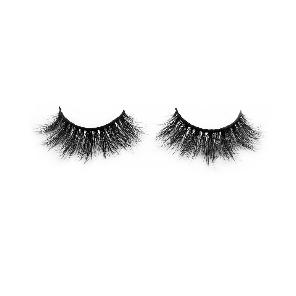 Wholeasale Lightweight and Curl 3D Mink Fur False Eyelashes ZX043