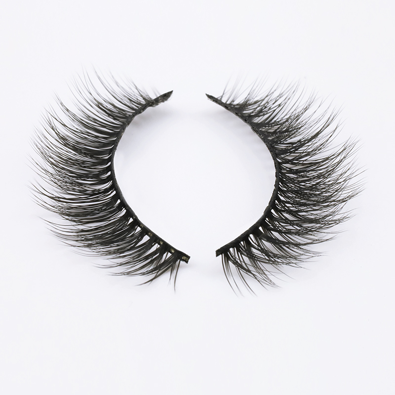 Wholesale Private Label 3D Wispy Silk Strip Lashes Supplier 2020 SP94 ZX105