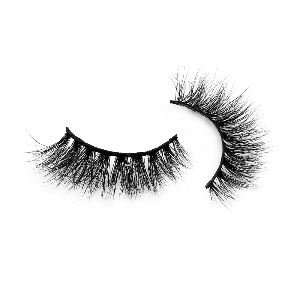 Wholesale Diamond Grade Handmade 6-18mm 3D Real Mink Lashes in USA ZX054