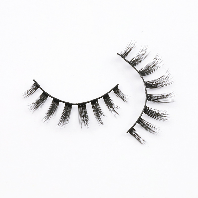 Create Your Own Brand Wholesale 3D Silk Eyelashes Vendor SPG55 ZX117