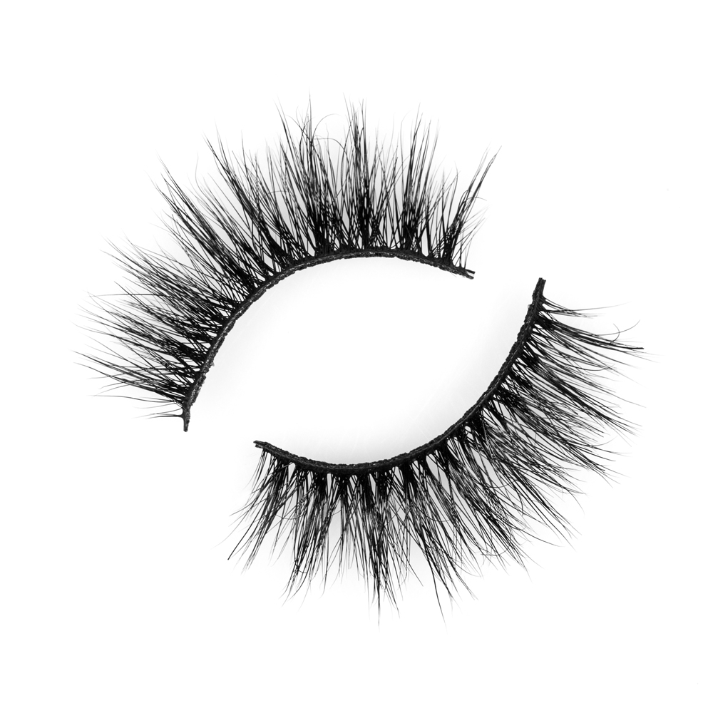 Inquiry for wholesale premium 3D mink lashes soft band 15mm natural look dramatic style cruelty free lashes with private label in UK XJ68