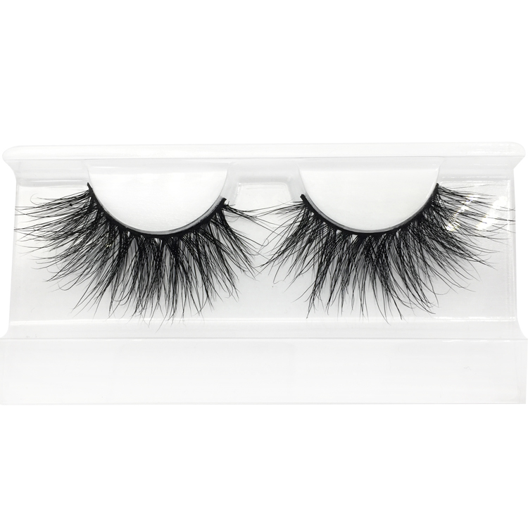 Hot Seller 25mm 3D Mink Lashes Wholesale Price Real Mink 25mm Strip Lashes Free sample Accepted YY41