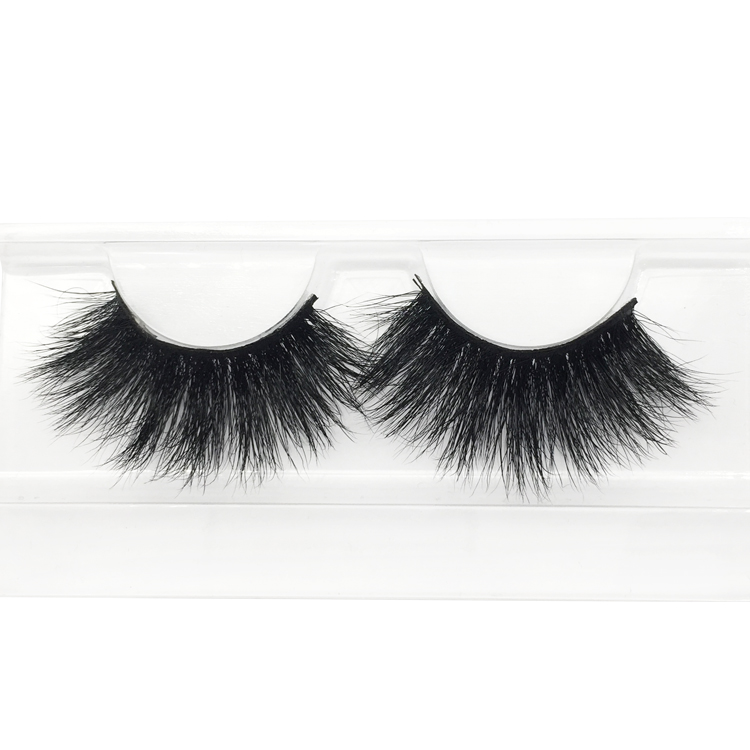 Wholesale Price 25mm Mink Eyelashes Strip Lashes Vendor Factory Direct Supply with ODM OEM YY18