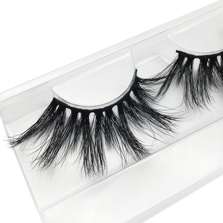 25mm Mink Eyelashes Cruelty-free Mink Fur 3D/5D Mink Strip Lashes Wholesale Dramatic False Eyelashes JN03