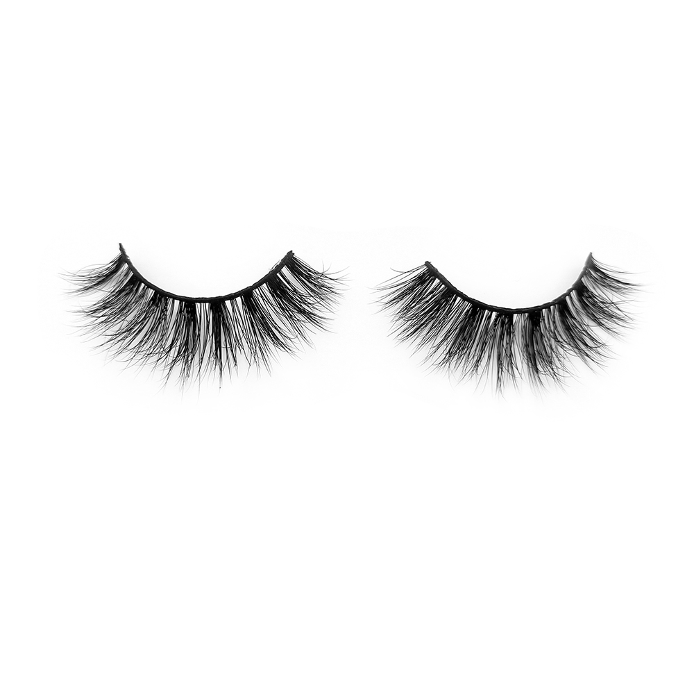 Premium mink lashes wholesale 3D effect natural style dramatic lashes XJ09