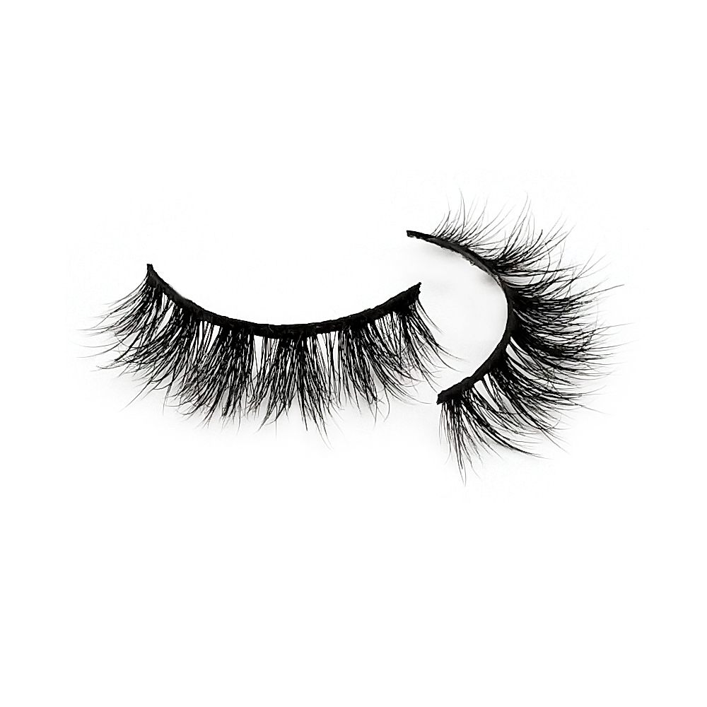 Natural Long 5D False Mink Eyelashes Girls Makeup ZX064