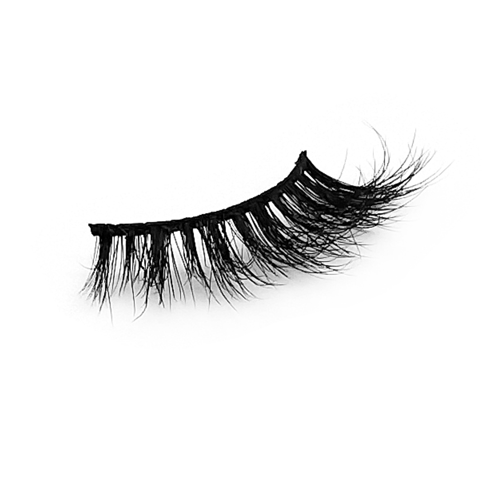 Wholesale Individual Private Label 100% Real 5D Mink Fur Eyelashes ZX063