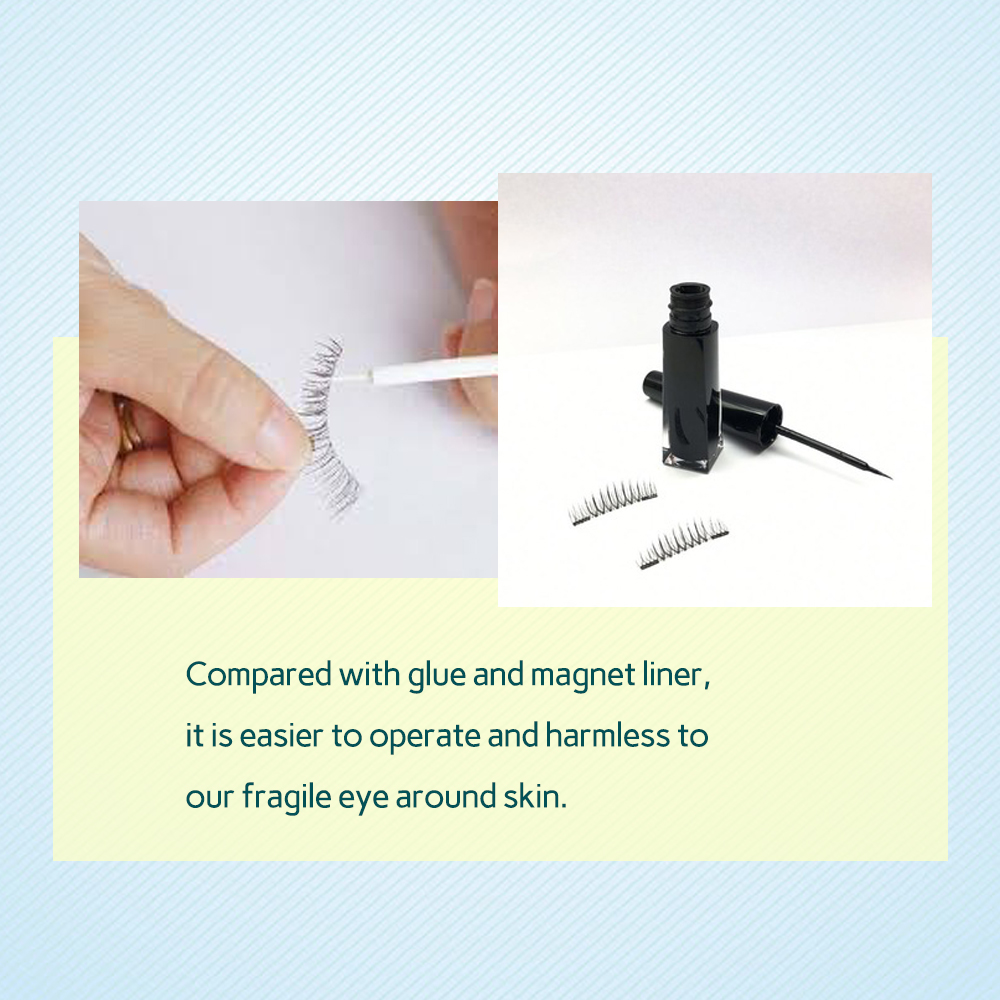 Magnetic eyelashes Quantum magnetic lashes soft magnet eyelashes ZX087