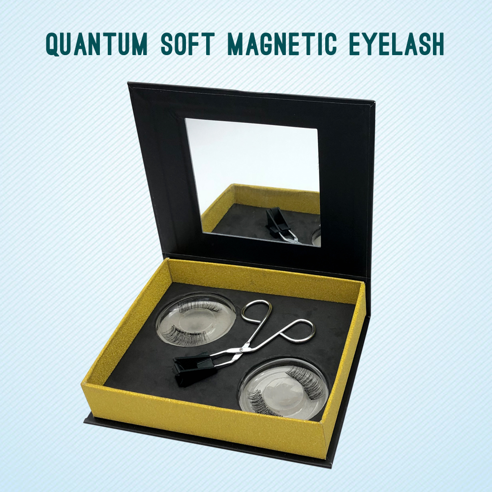 2020 new products 8D quantum magnetic eyelash real lash manufacturers with factory wholesale price USA YL75