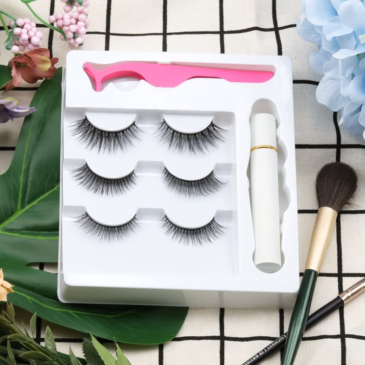 Top10 Best Selling 3D Faux Mink Lashes in USA/UK ZX096