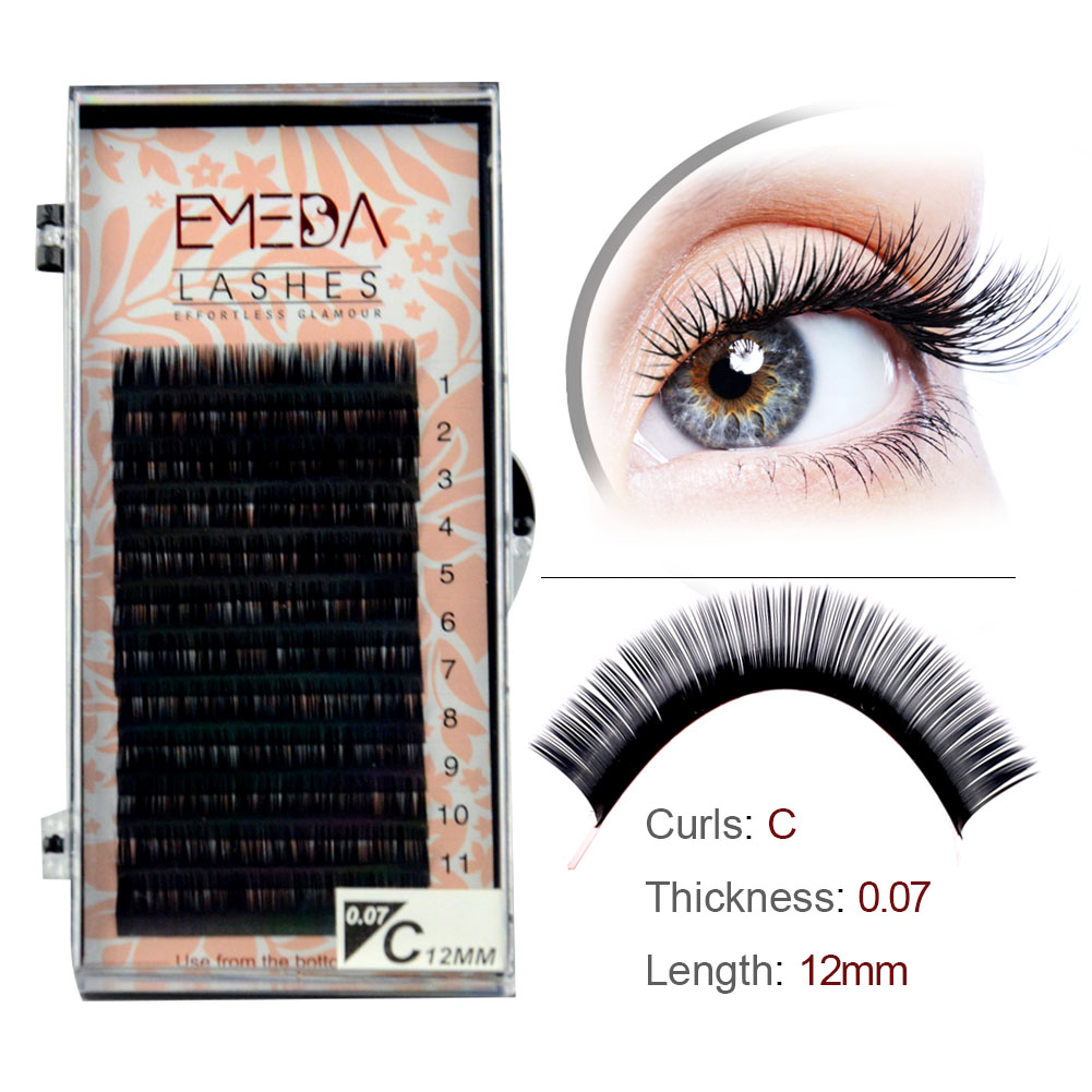 Inquiry for Private label Individual lash for classic lash 0.15 0.20 Russia volume lash extensions vendors in Poland XJ55