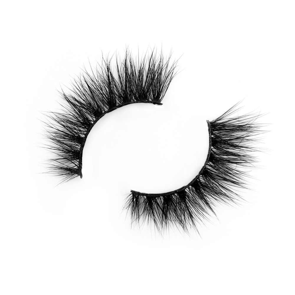 Wholesale price mink fur eyelash with professional supplier JH99