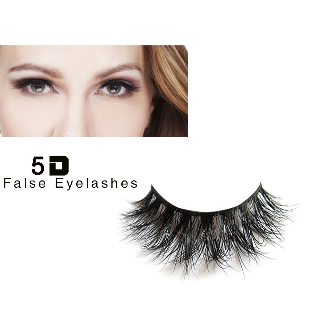 High Quality Cheap Handmade Customized Packing Beauty Tools Thick Long Soft 5D Mink Eyelashes ZX09