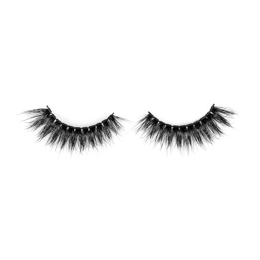 Luxurious 5D 100% Real Mink Eyelashes by Lashes Manufacturer ZX027