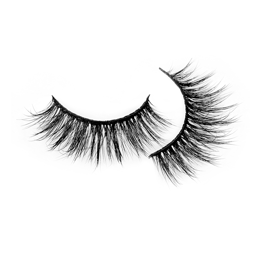 Fluffy 3D mink fur eyelash ,luxury style mink lashes with factory price  JH59