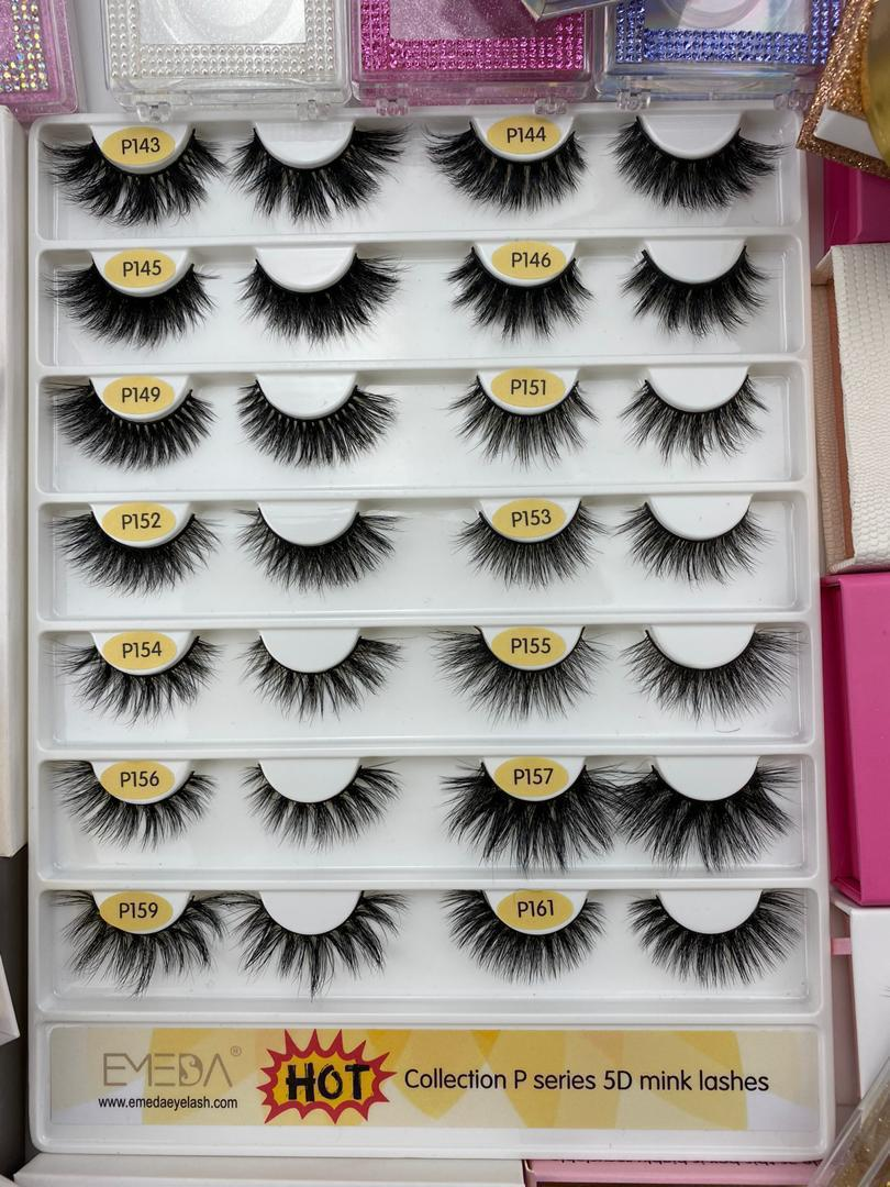 Wholesale price real mink lash with Premium quality ------JH125