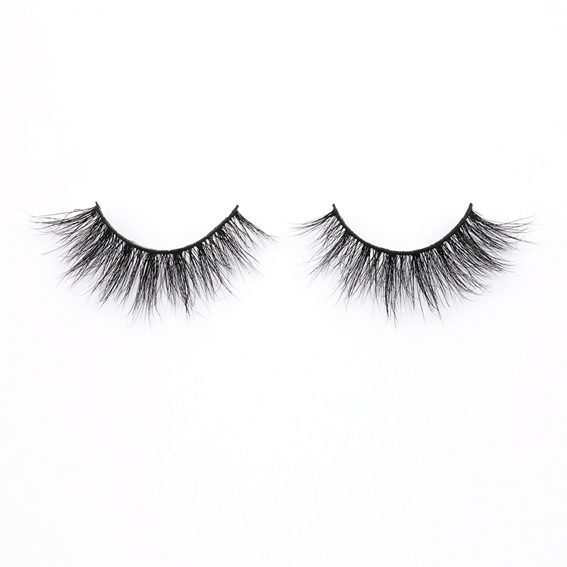 Eyelash Supplier Sell Real Mink Fur Strip Lashes w...