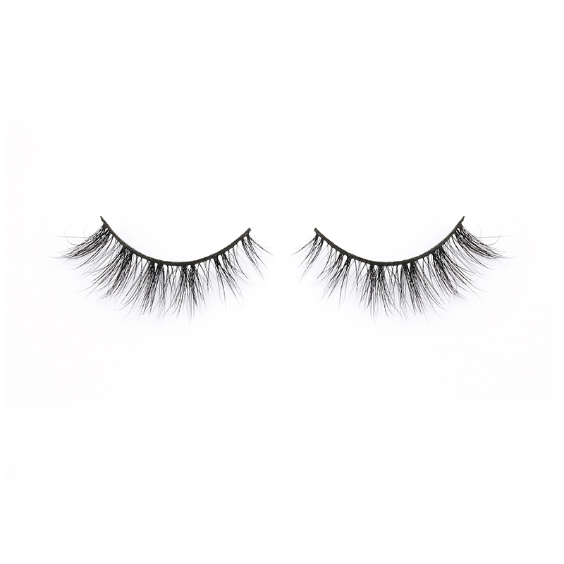 Eyelash Manufacturer Offer Real Mink Fur 3D Strip Lashes with Private Label in the US YY111