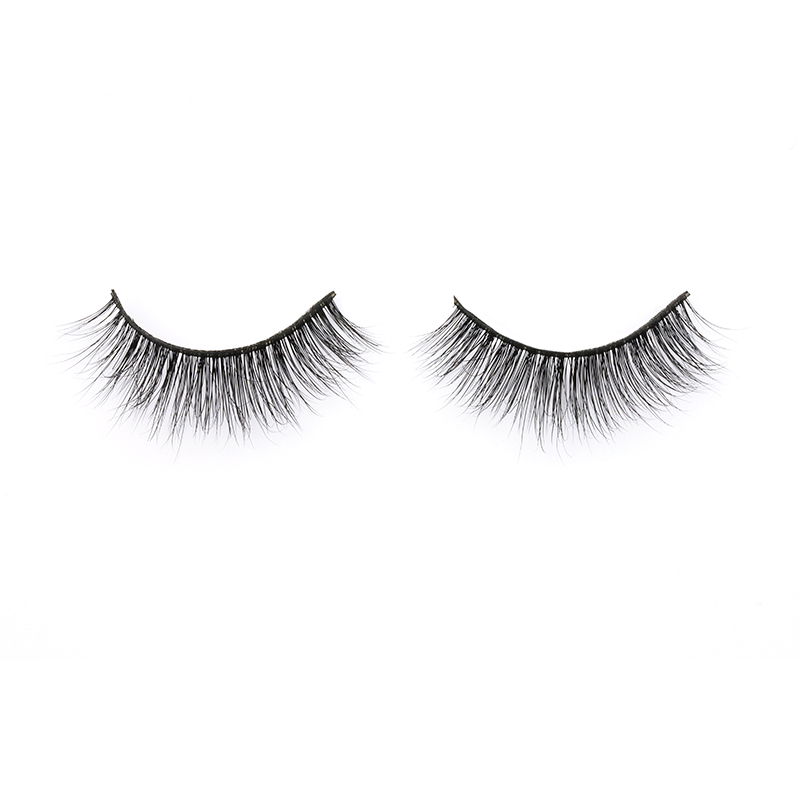 Eyelash Supplier Supply Real Mink Fur 3D Strip Lashes Wholsale Price Mink Eyelashes in Canada YY103