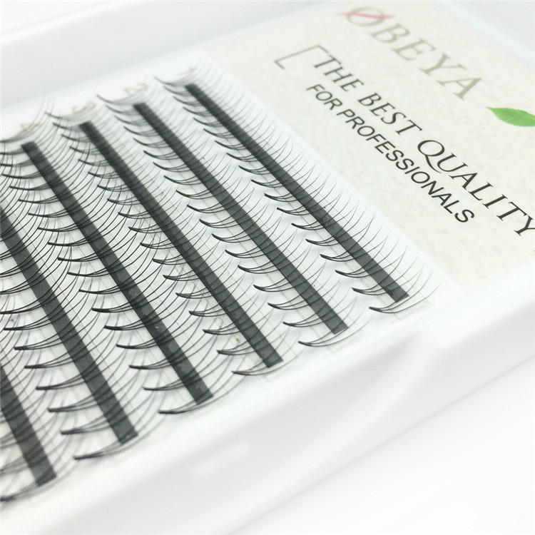 12 Rows 0.10C Mix Length Middle Type Camellia Russian Individual Lashes ZX060
