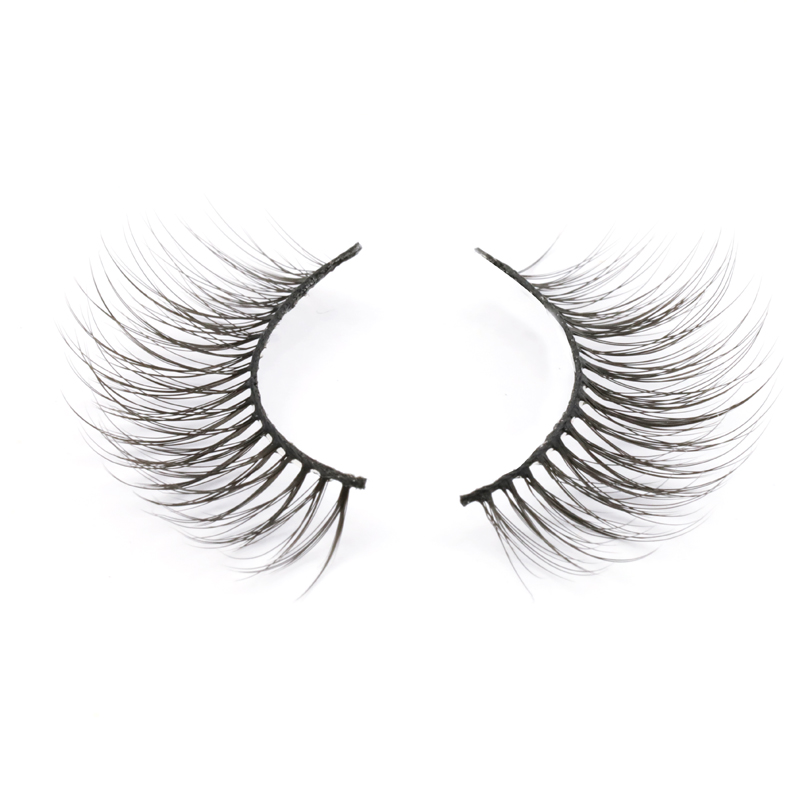 Soft and light 3D silk synthetic fiber lashes JH119