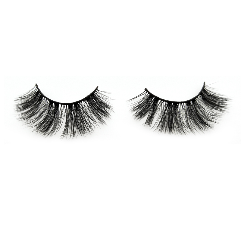 Fashionable 3D faux mink wispies eyelash Canada JH47