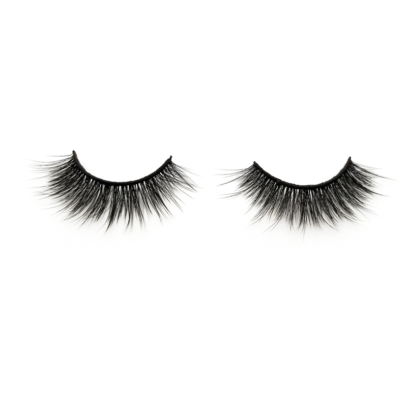 Fashionable 3D silk synthetic fiber eyelash for makeup UK JH28