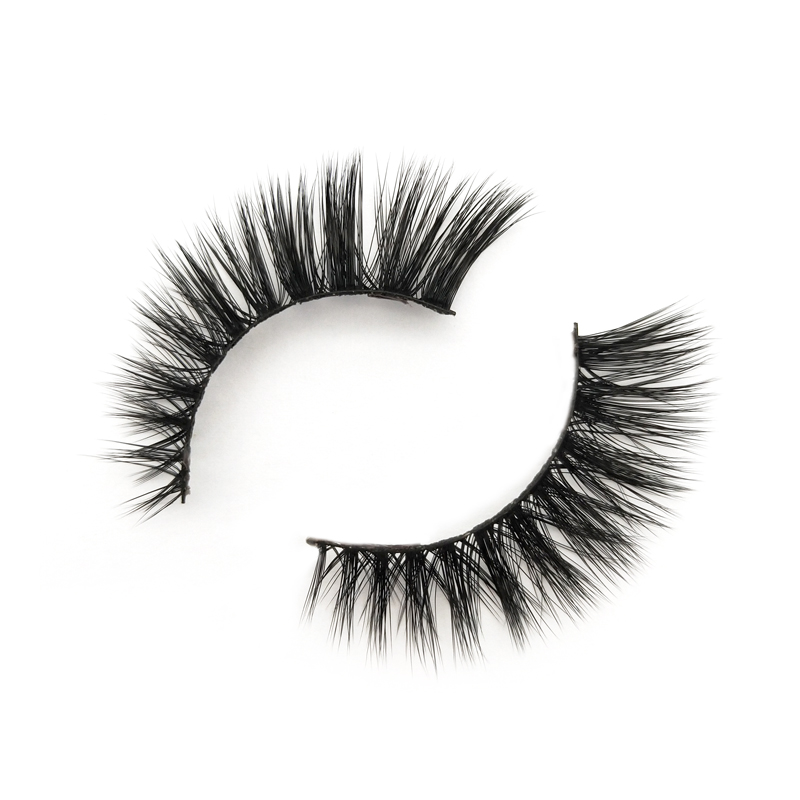 Wholesale price natural faux mink lashes with premium quality JH56