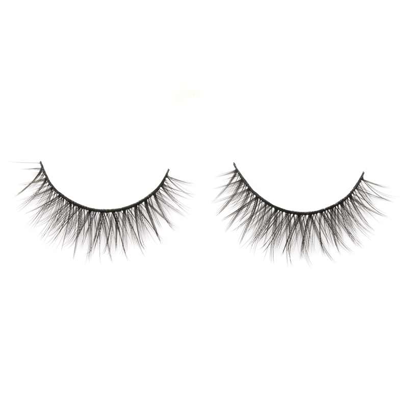 2020 Fashion Style 3D Silk False Strip Lashes with Private Box in the US YY104