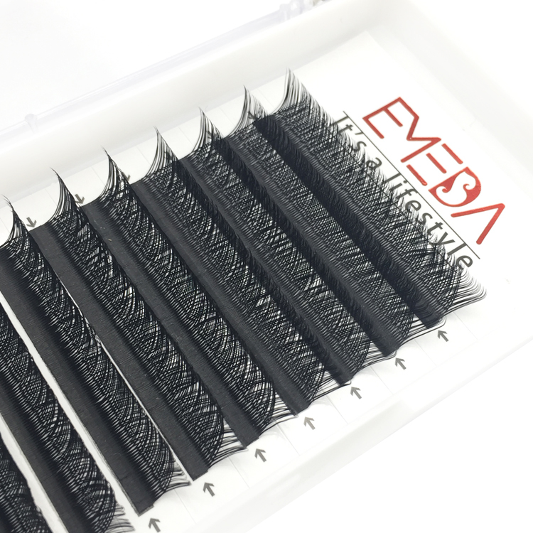Private Label Best YY Eyelash Extension made of Korea PBT Fiber UK USA YY52
