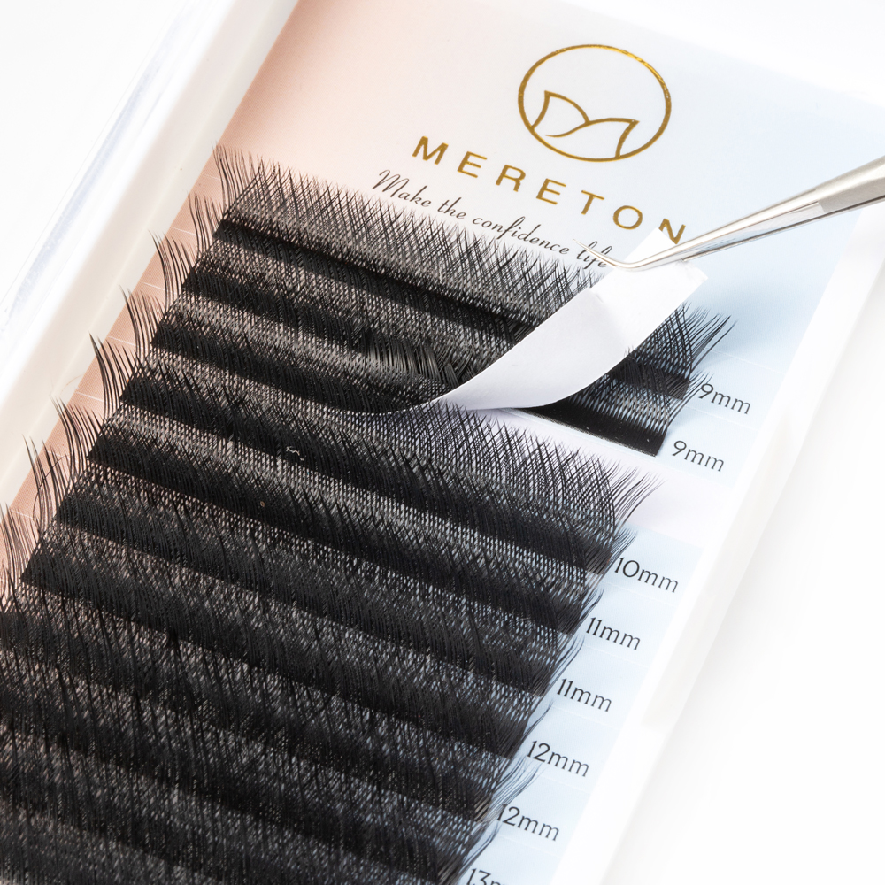 Inquiry for wholesale Hot Amazon YY lash extensions 0.07 Nature Long Black Soft and Light Individual lash with private label in US XJ61