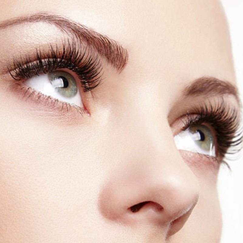 Hotsale silk synthetic eyelash extension with premium quality JH80