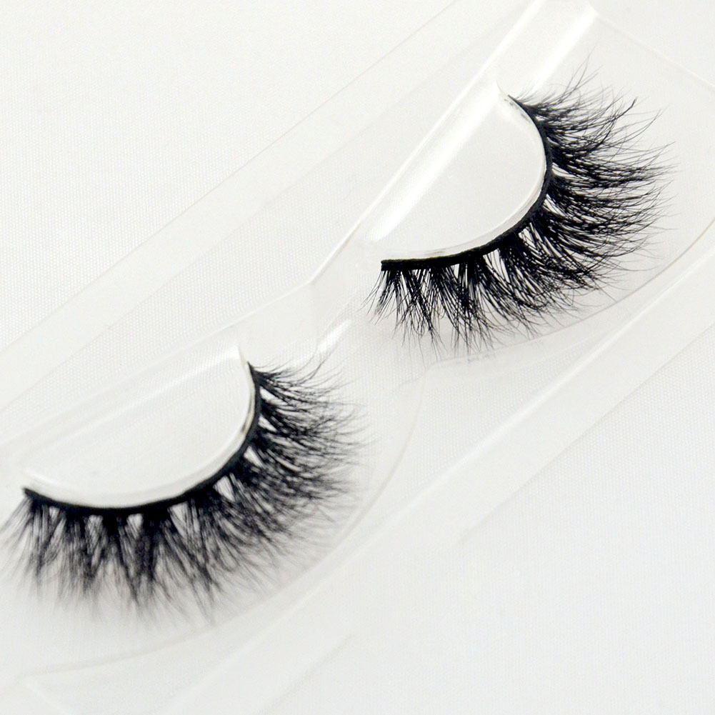 Best Quality 100% Hand Made Hand Tied 3D Mink Fur Eyelashes Customized Package YY11