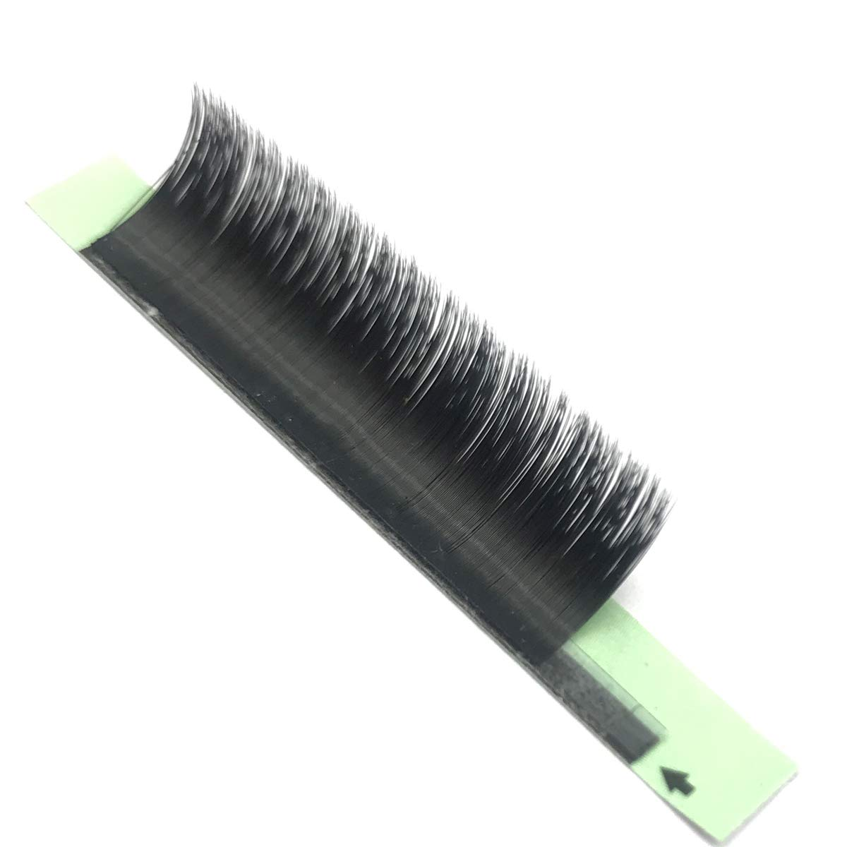 D Curl 0.05/0.07/0.10mm Thickness 8-18mm Single Length Rapid Volume Lash Extensions ZX083