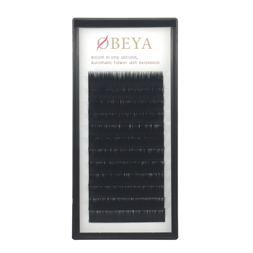 Obeya wholesale fast easy fanning rapid blooming volume eyelash extensions xx