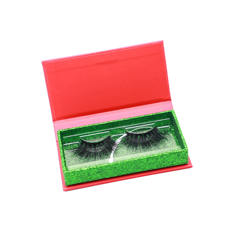 Eco-friendly Private Label Eyelashes Packaging Custom Eyelashes Box Christmas Gift JN39