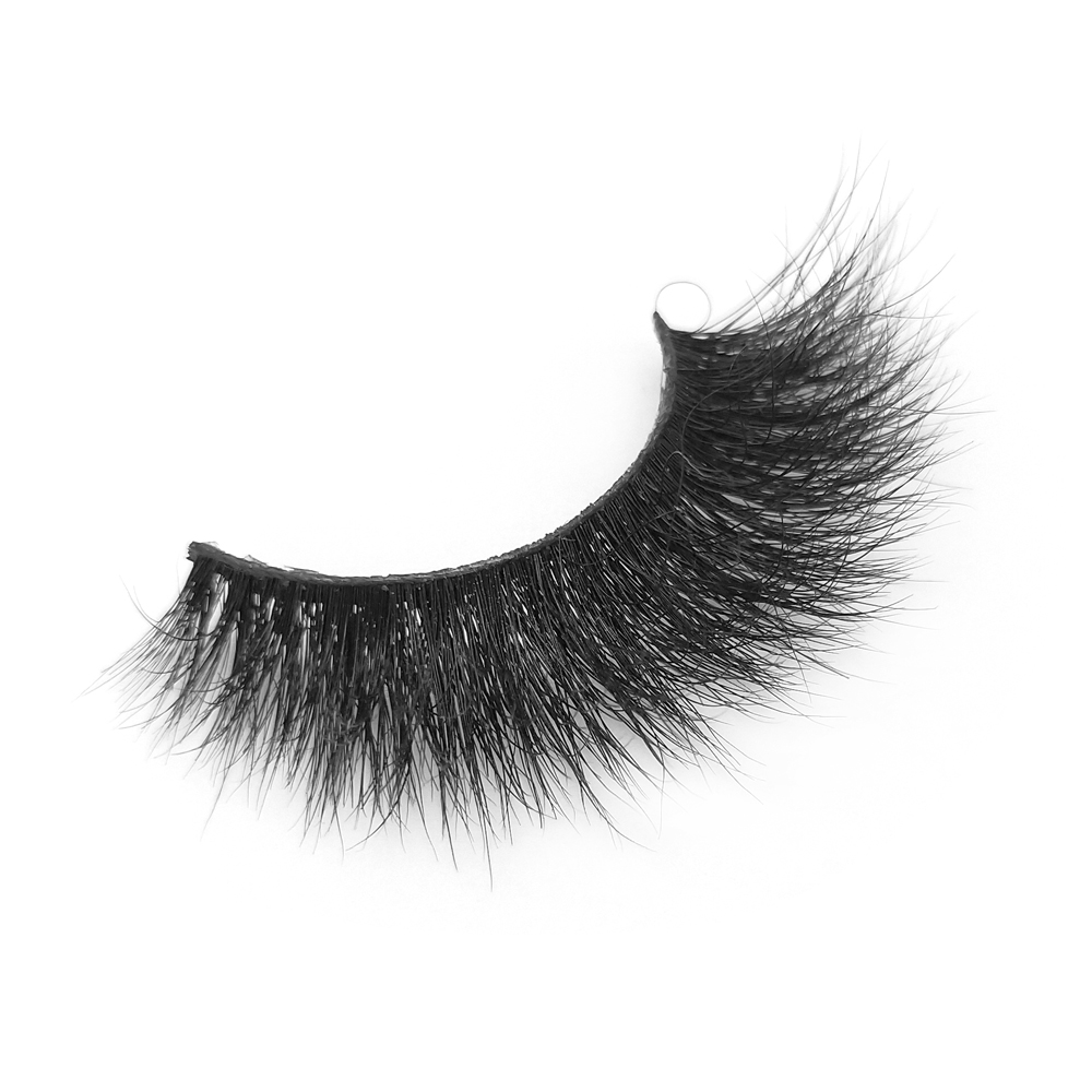 Luxurious Wispy Natural Cross Thick  3D Mink Fur False Eyelashes QJ19