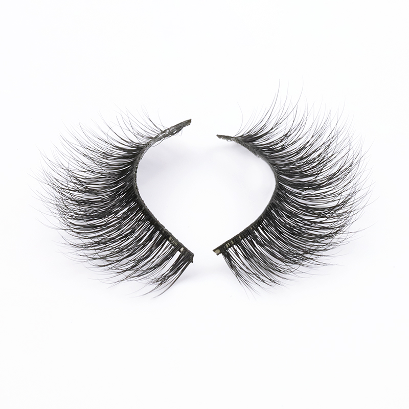 Wholesale 100% Handmade Natural 3D Mink Lashes 2020 in US/UK PD55 ZX113