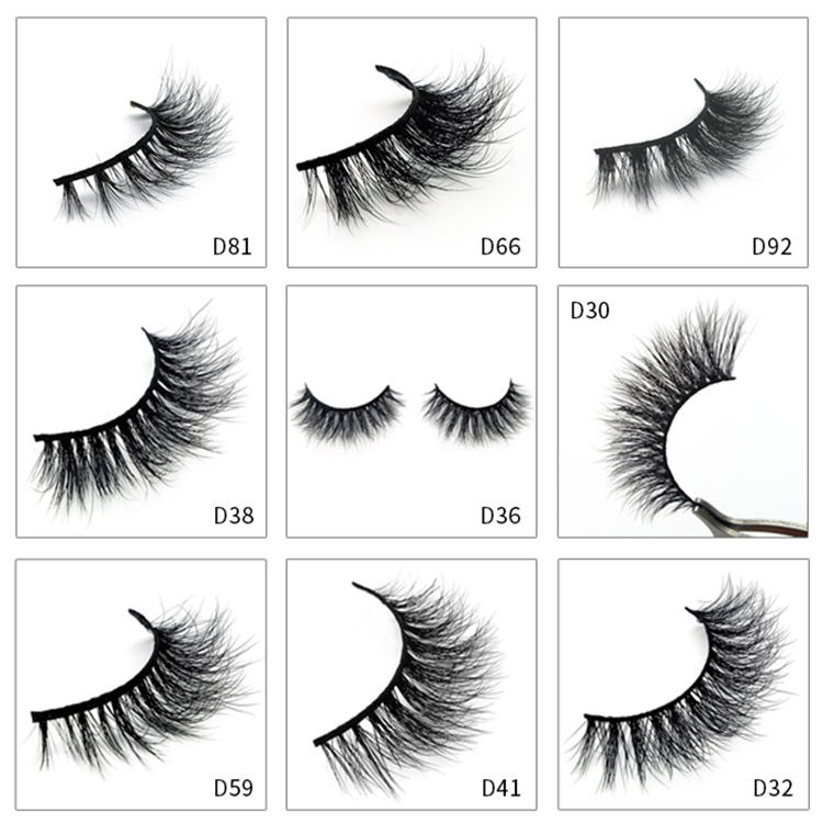 Mink Eyelashes 3d With 3d Mink Eyelashes Private Label Supplier Y49