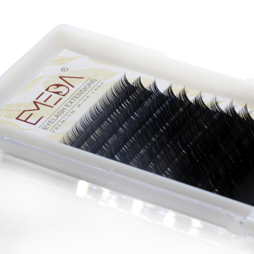Free Samples for 0.07 0.05 0.03 Russian Volume Eyelash Extension in the UK and the US with Private Label YY80