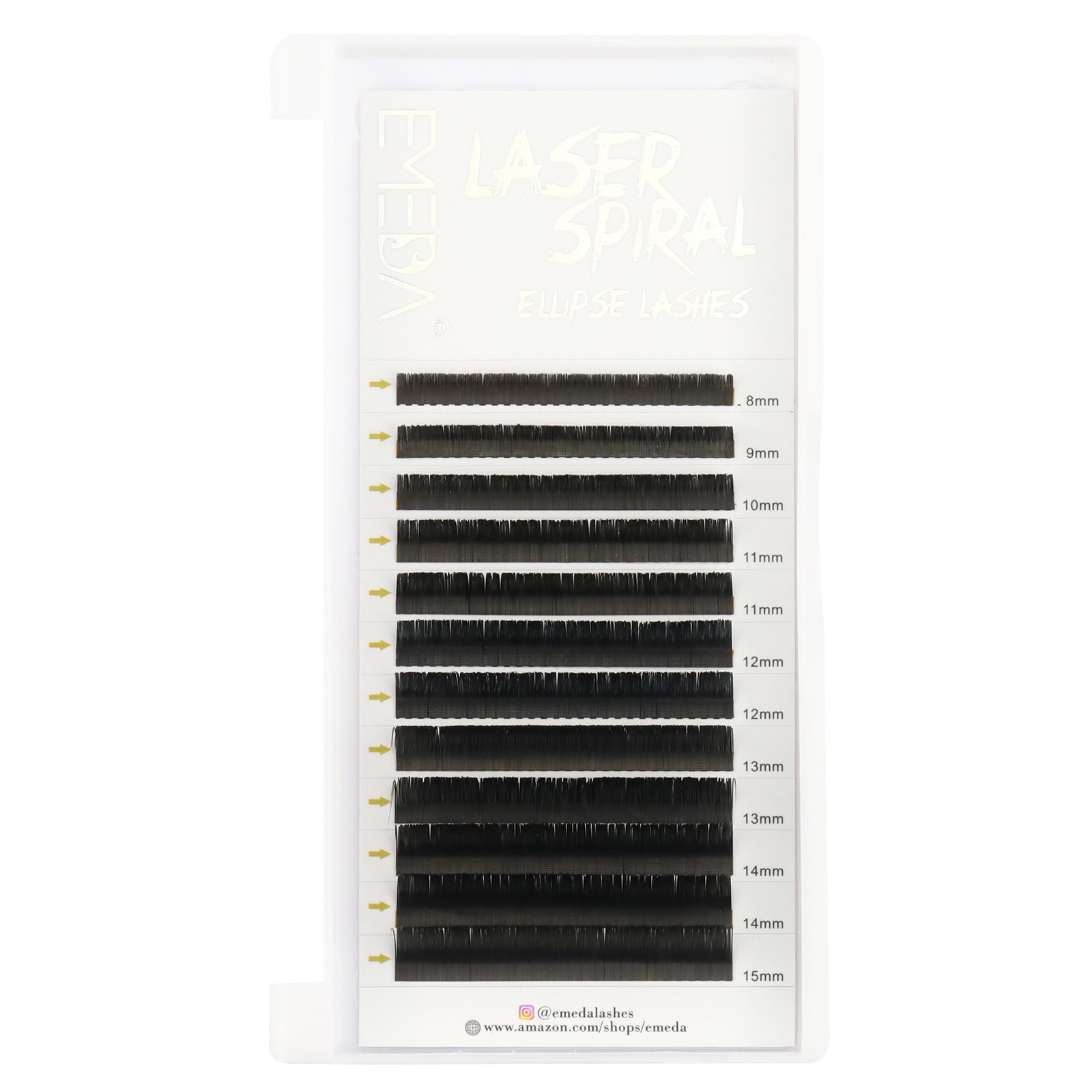 2021 Top quality 0.15mm C D Curl Laser Micro-groove Eyelash Extensions with wholesale Price in the US